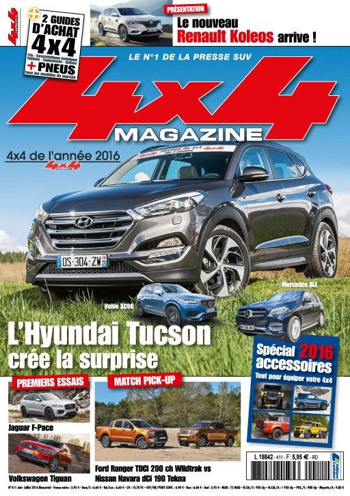 4x4 magazine 411 - Juin/Juillet 2016