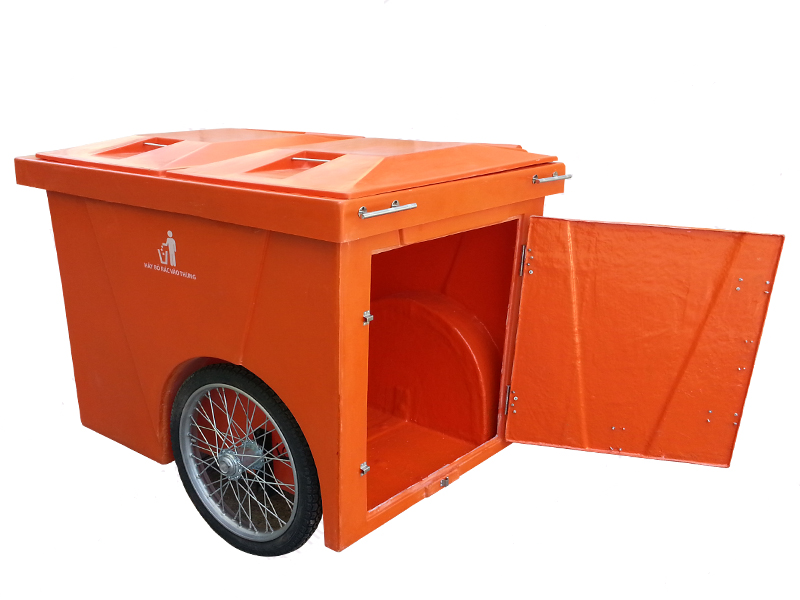 www.123nhanh.com: Bán thùng rác, xe đẩy rác 1000 lít giá tốt.