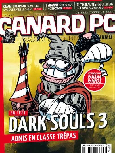 Canard PC 337 - 15 Avril 2016