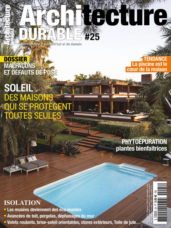 Architecture Durable - Mai/Juillet 2016