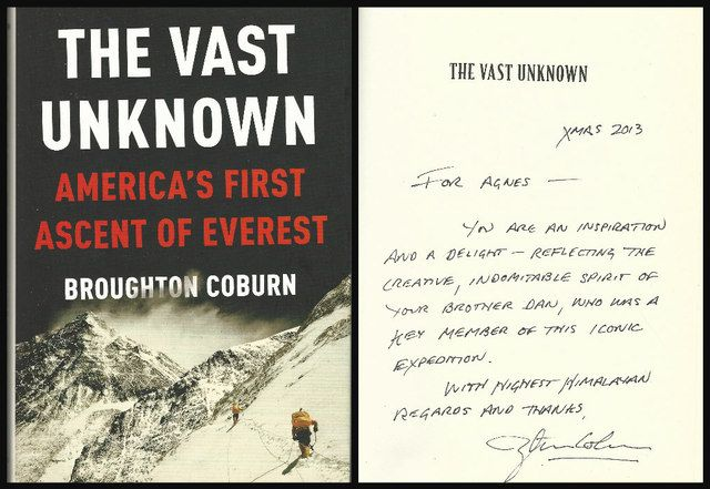 The Vast Unknown: America's First Ascent of Everest, Coburn, Broughton