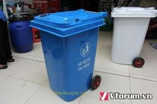 Thùng rác công cộng 120l giá rẻ-Q1| 0913 819238 Ms Thanh