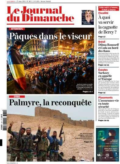 Le Journal du Dimanche - 27 Mars 2016