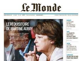 Le Monde + Eco & Entreprise du Jeudi 25 Février 2016