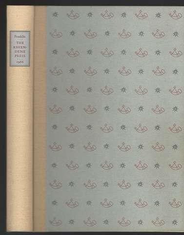 The Ashendene Press, Franklin, Colin