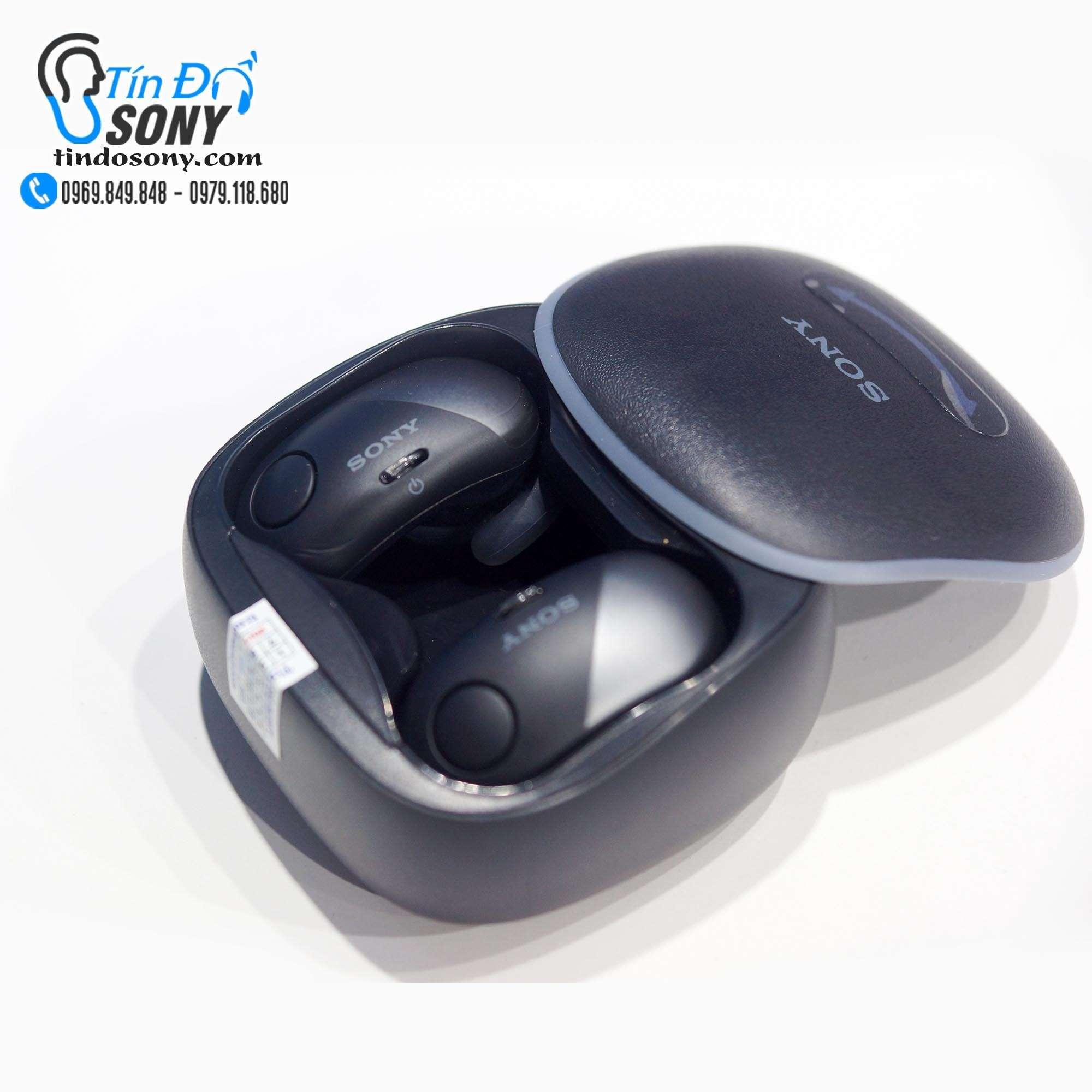 Tai nghe Sony WF-SP700N Black (Like New Ko Box)