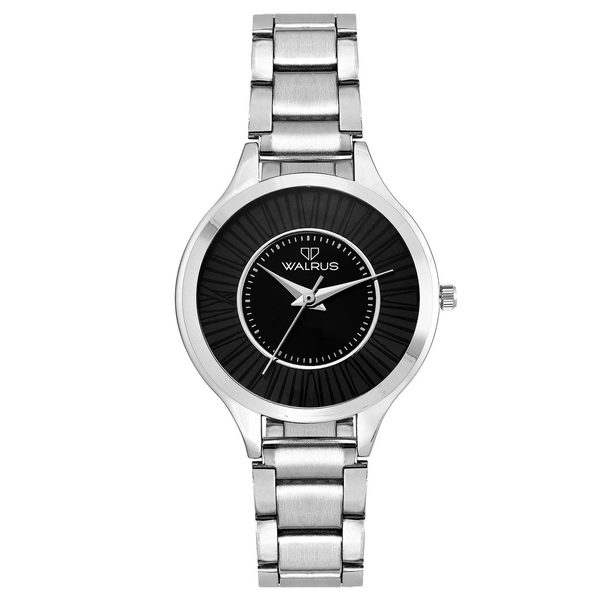 Walrus Ova Black Color Analog Women Watch -WWW-OVA-020707