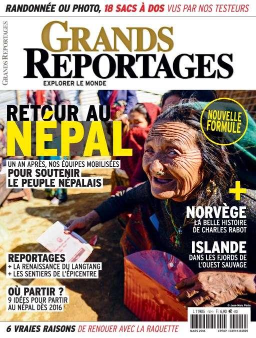 Grands Reportages 416 - Mars 2016