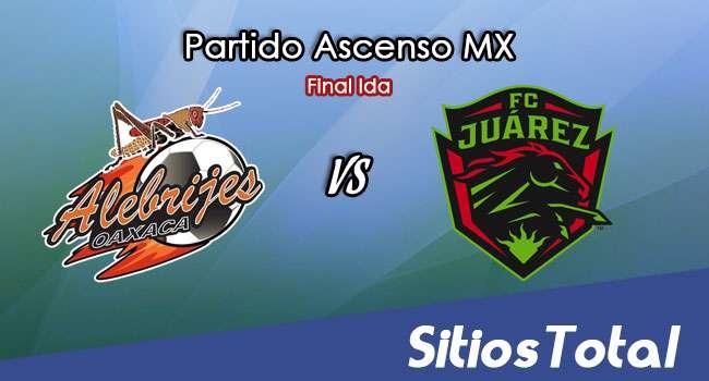 Ver Alebrijes de Oaxaca vs FC Juarez en Vivo – Online, Por TV, Radio en Linea, MxM – Apertura 2017 Ascenso MX