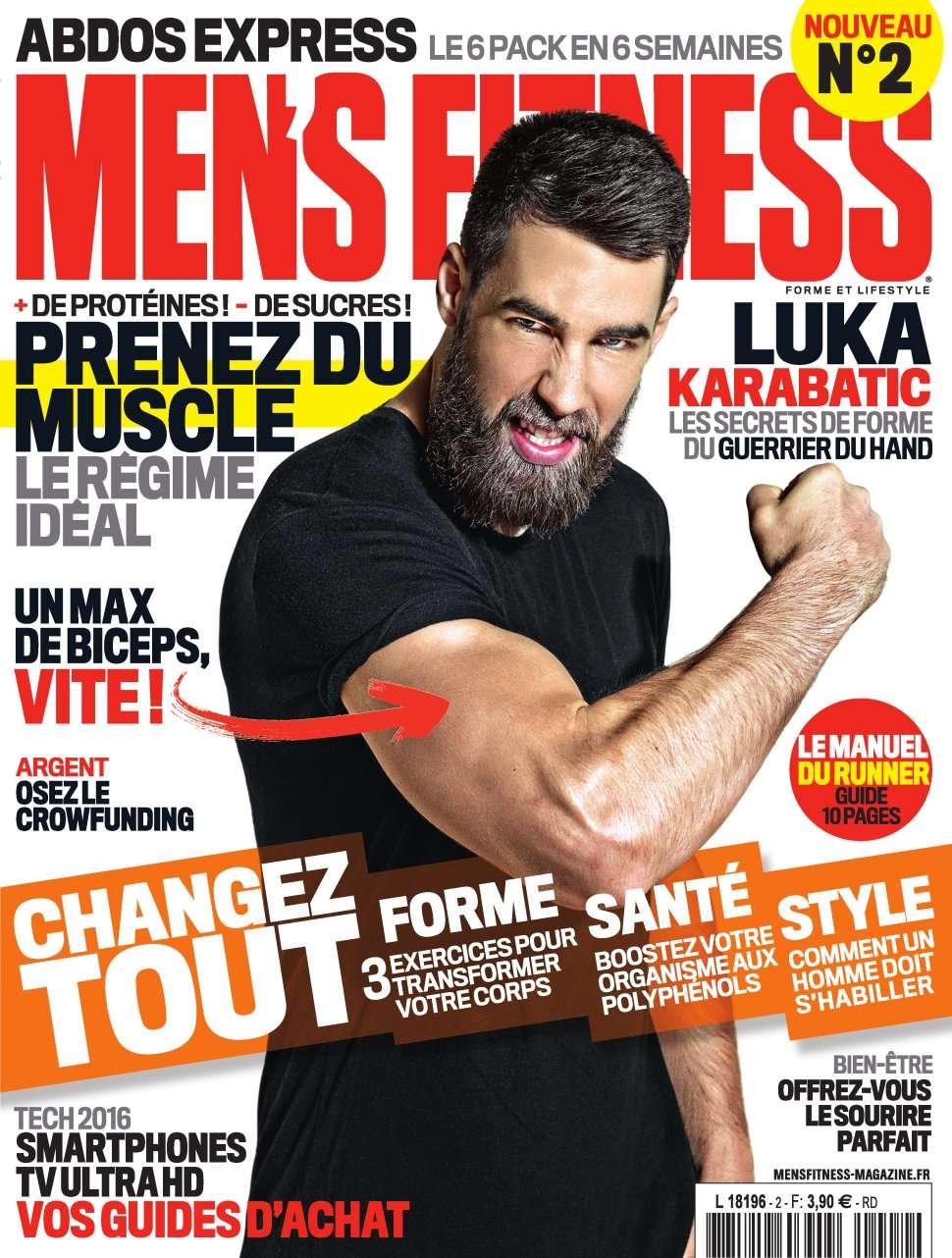 Men's Fitness 2 - Avril 2016