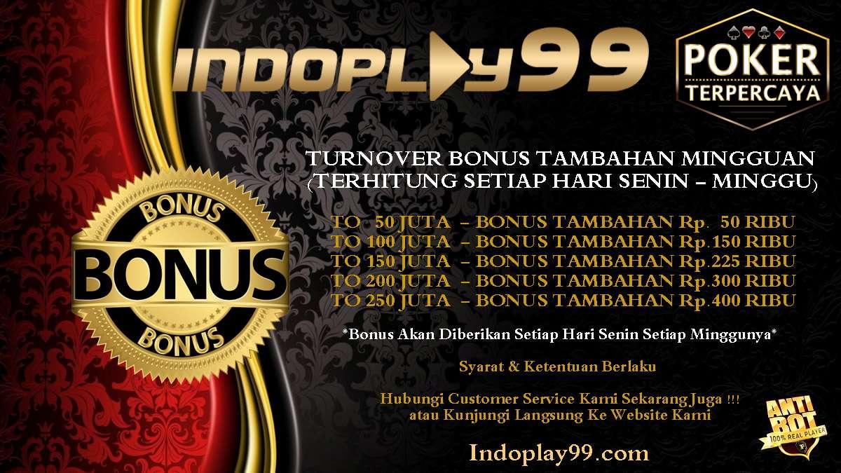 Multiplayer Poker Promo Bonus Turnover Tambahan Mingguan