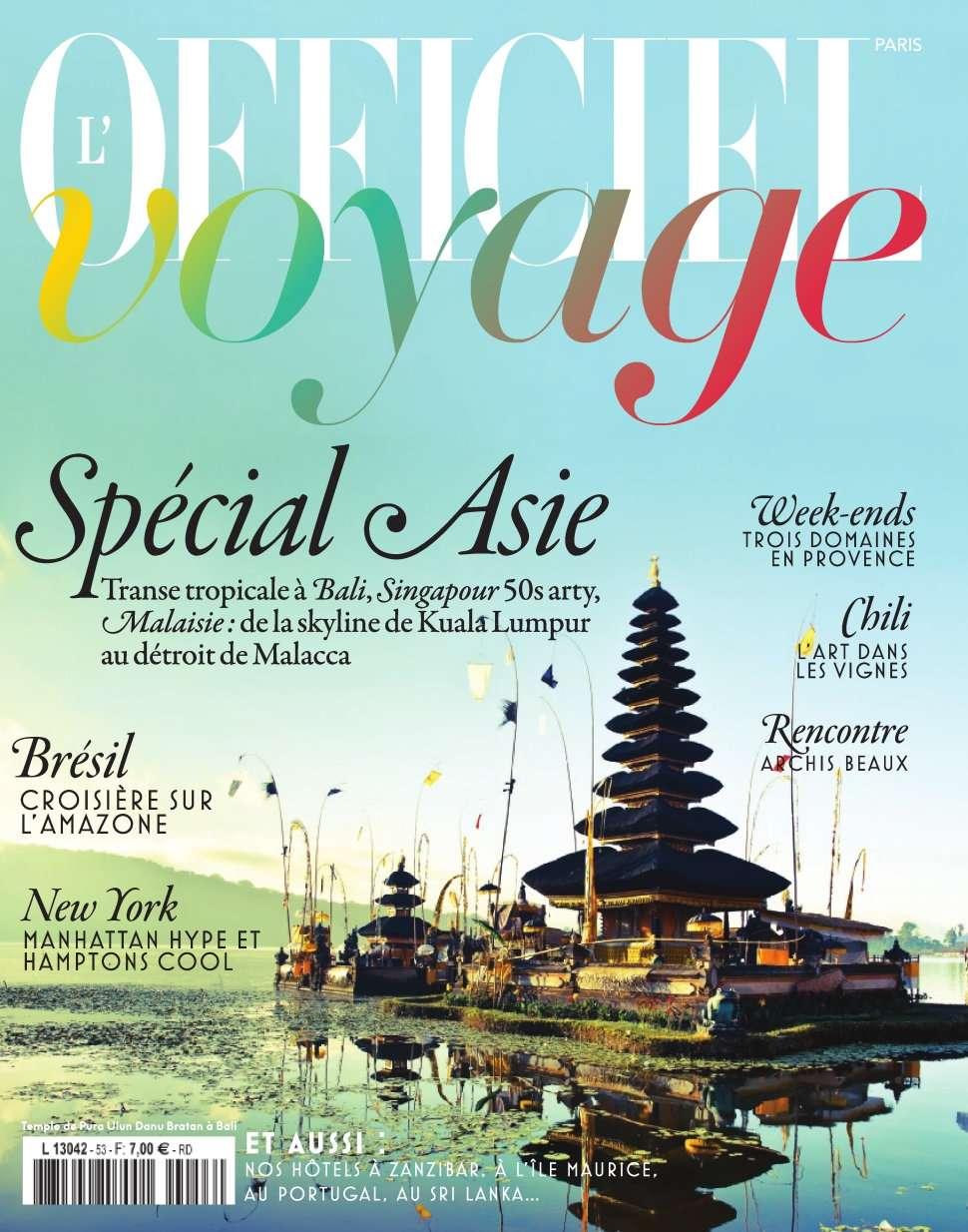 L'Officiel Voyage 53 - 2016