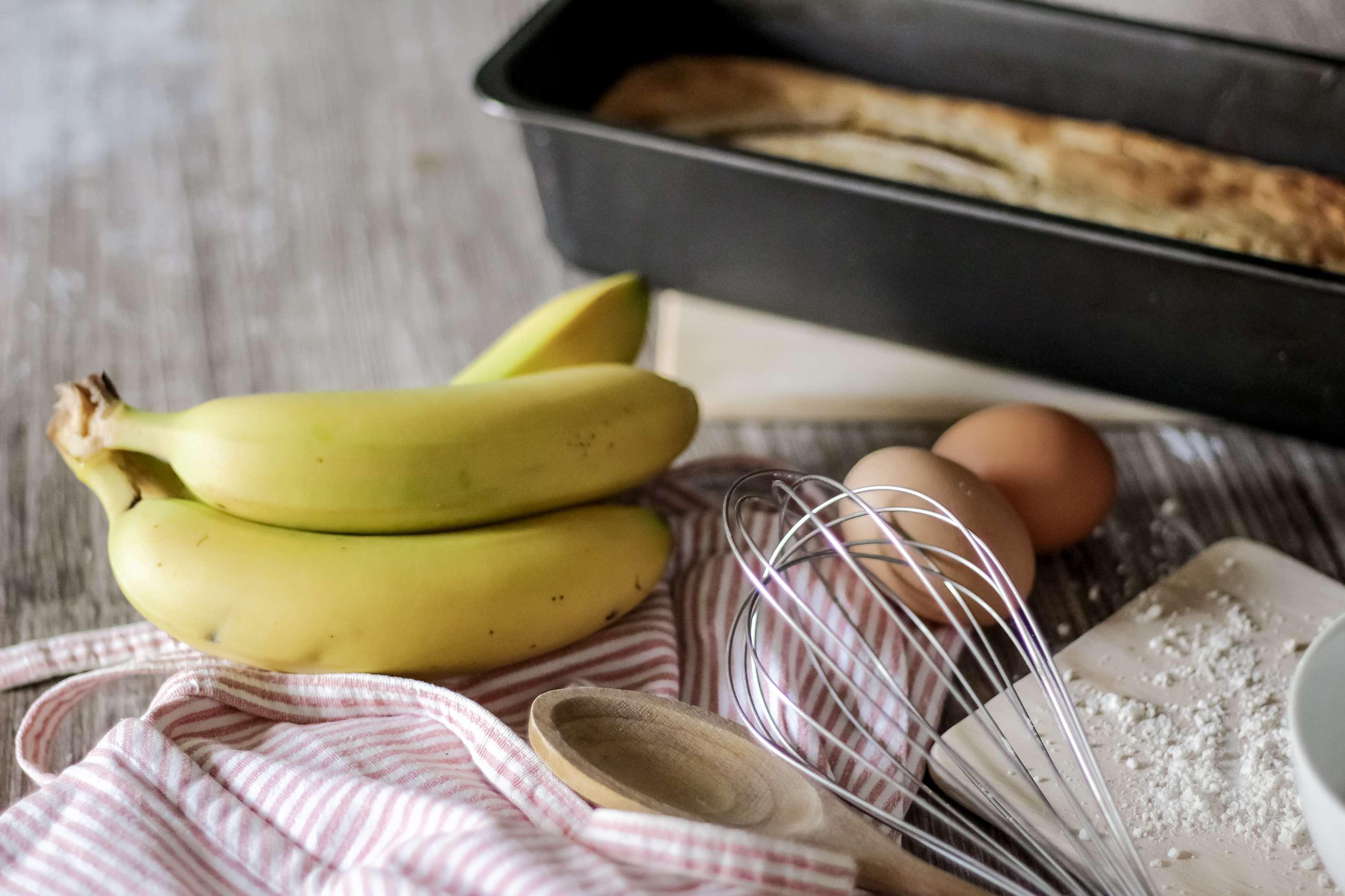 cuisine, blog cuisine, banana bread, banana bread bio, gateau rapide, cuisine rapide, the green ananas, recette bio 1