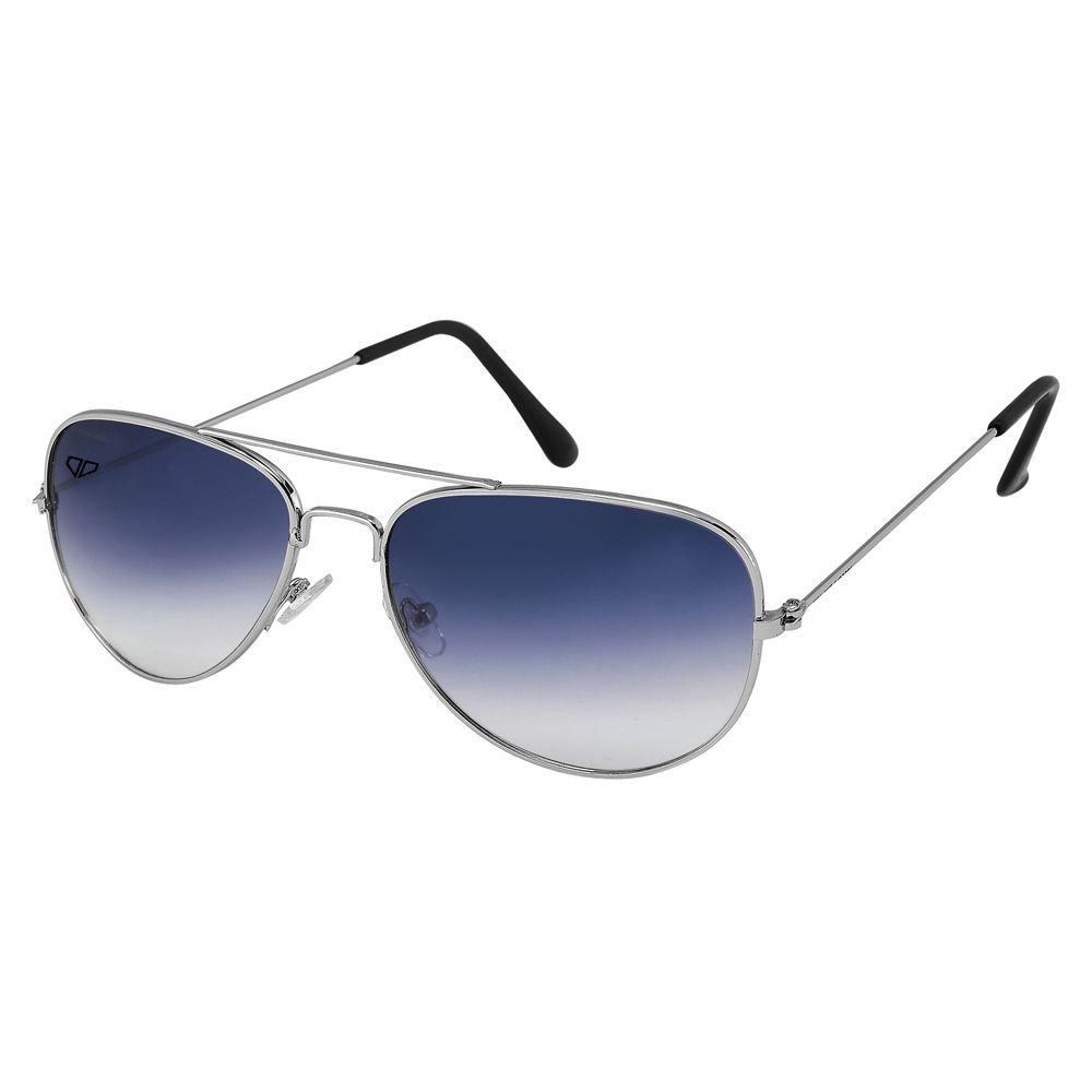 Walrus John Blue Gradiat Color Unisex Aviator Sunglass - WS-JOHN-280707