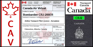 Bombardier CRJ-200ER Certification Flight