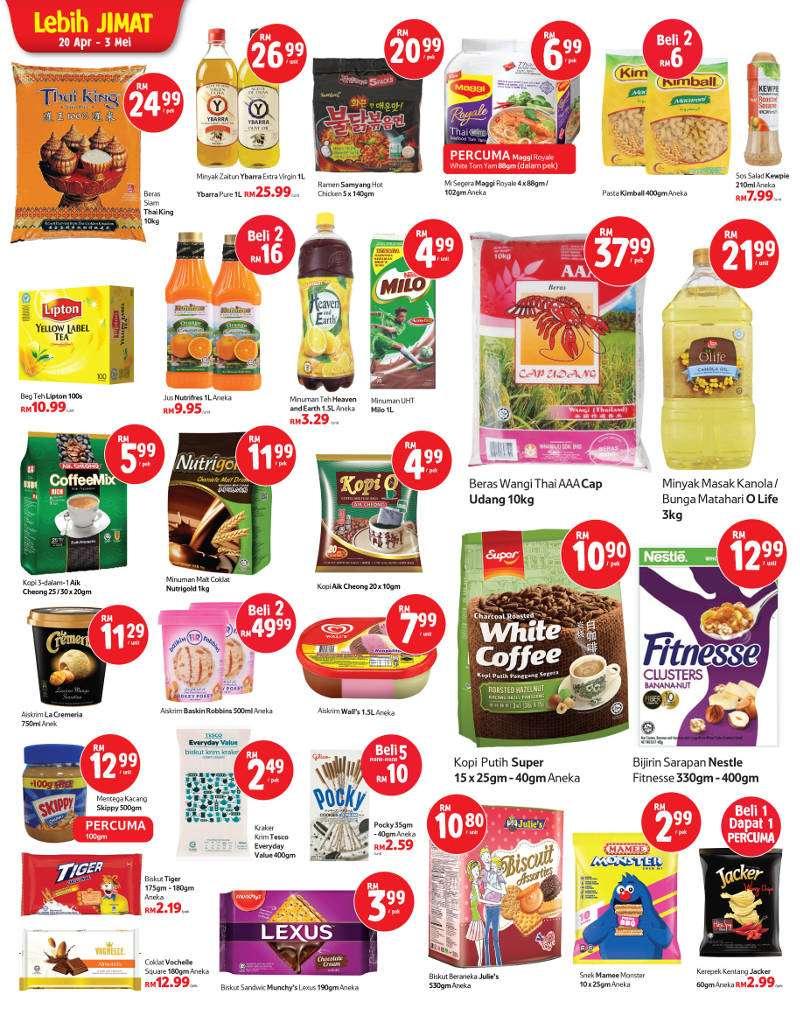 Tesco Malaysia Weekly Catalogue (20 April 2017 - 26 April 2017)