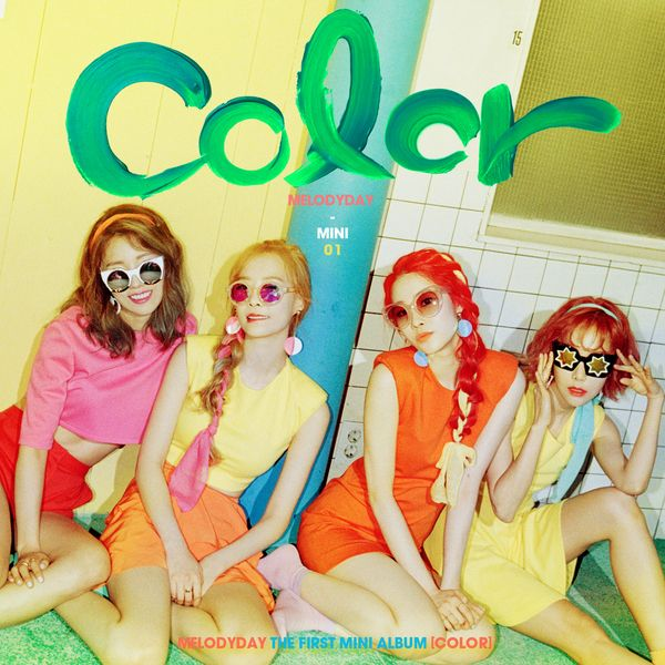 Melody Day - Color + MV (Full 1st Mini Album) K2Ost free mp3 download korean song kpop kdrama ost lyric 320 kbps