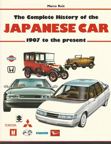 Complete History Of The Japanese Car, Marco Ruiz