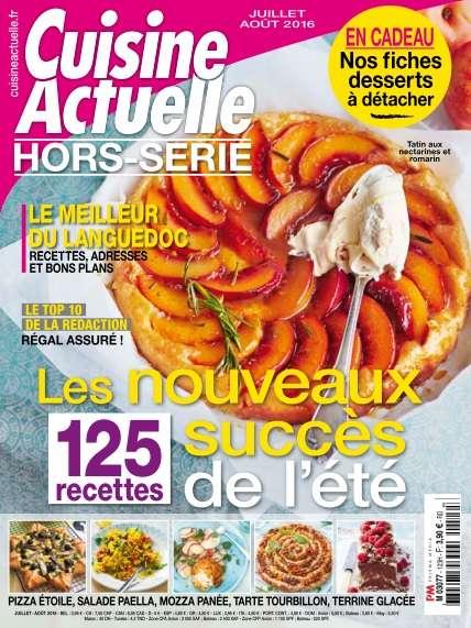 Cuisine Actuelle Hors-Série 123 - Juillet/Août 2016