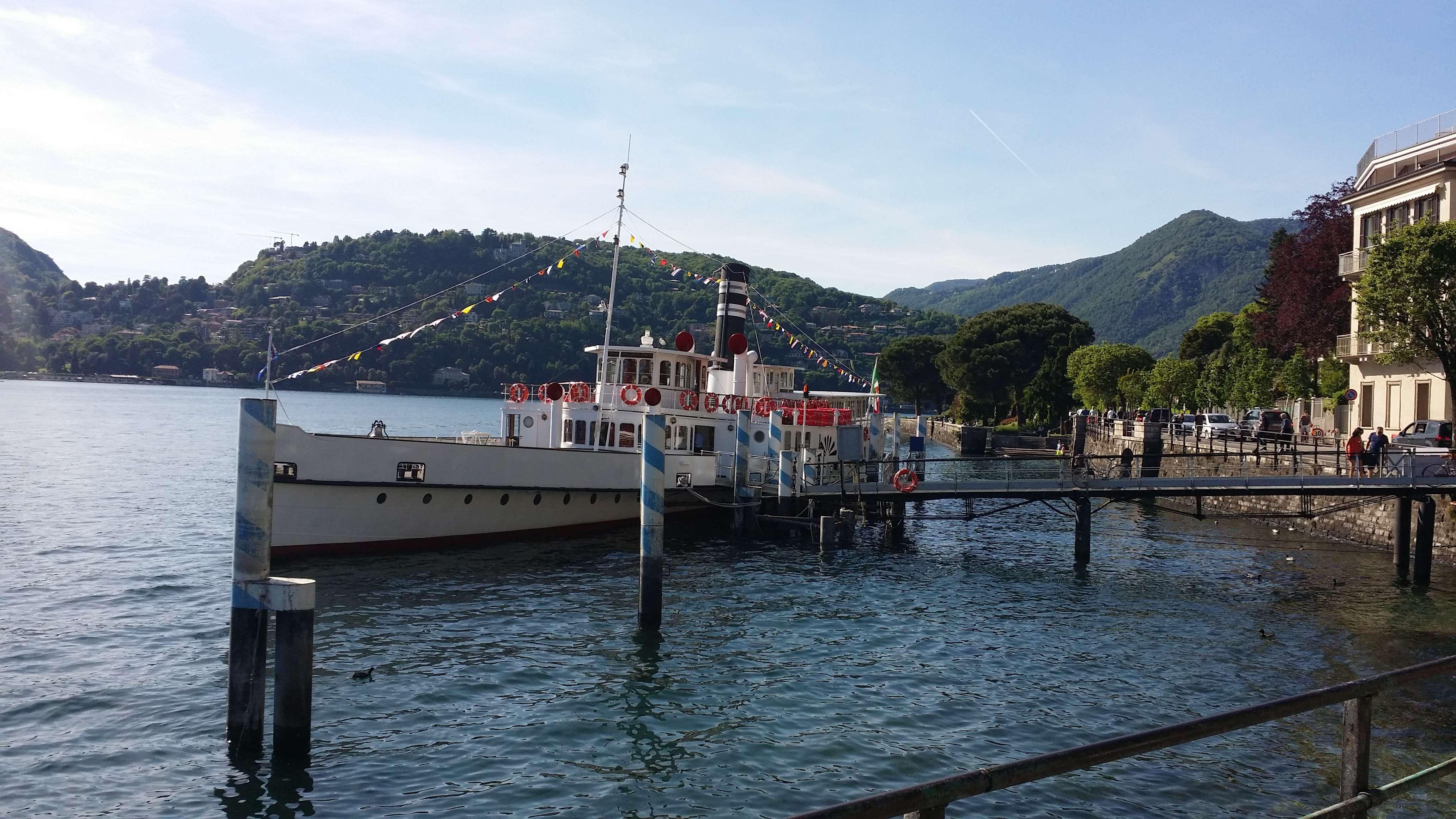 Trasporti a milano view topic lario traghetti for Disegni ponte veranda
