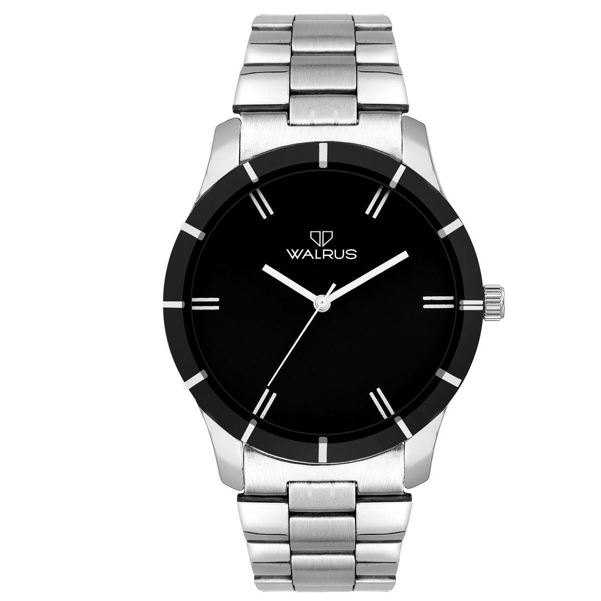 Walrus Adam Chain Black Color Analog Men Watch -WWM-ADM-CH-020707