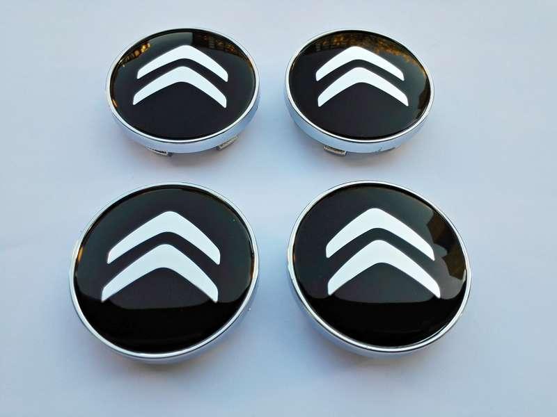 citroen 4 caches moyeu jante centres de roue 60 mm embl me logo ebay. Black Bedroom Furniture Sets. Home Design Ideas