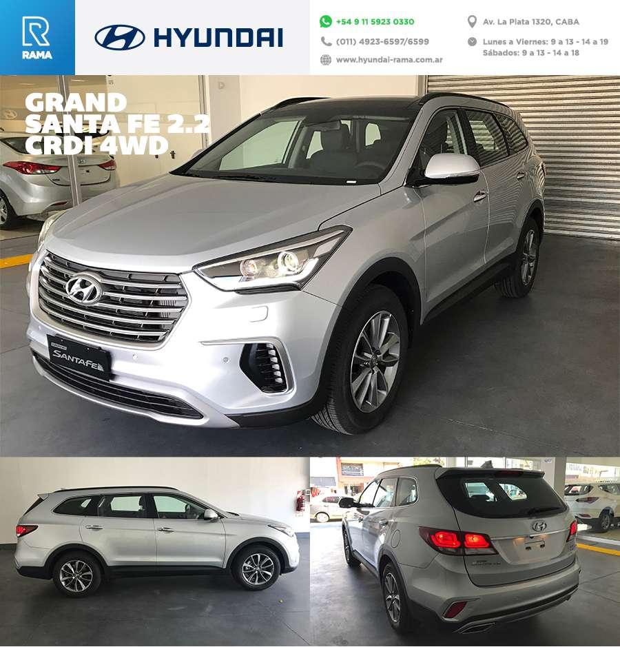 Hyundai grand santa fe header