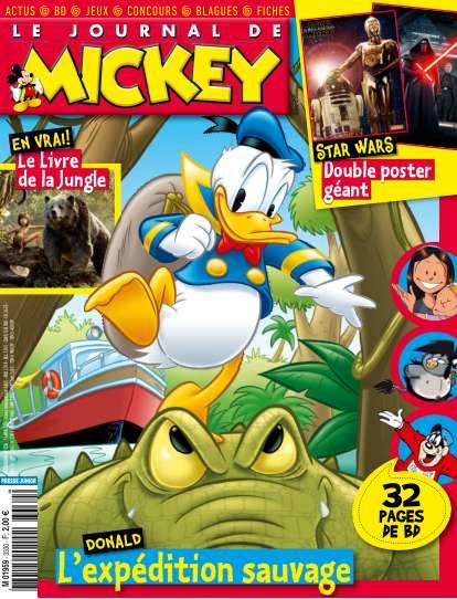 Le Journal de Mickey 3330 - 13 au 19 Avril 2016