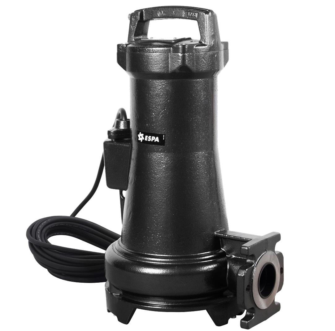 Bomba Sumergible Para Lodos 16m 1.5hp Drainex 202 220v 1f