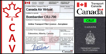 Bombardier CRJ-700 Certification Flight