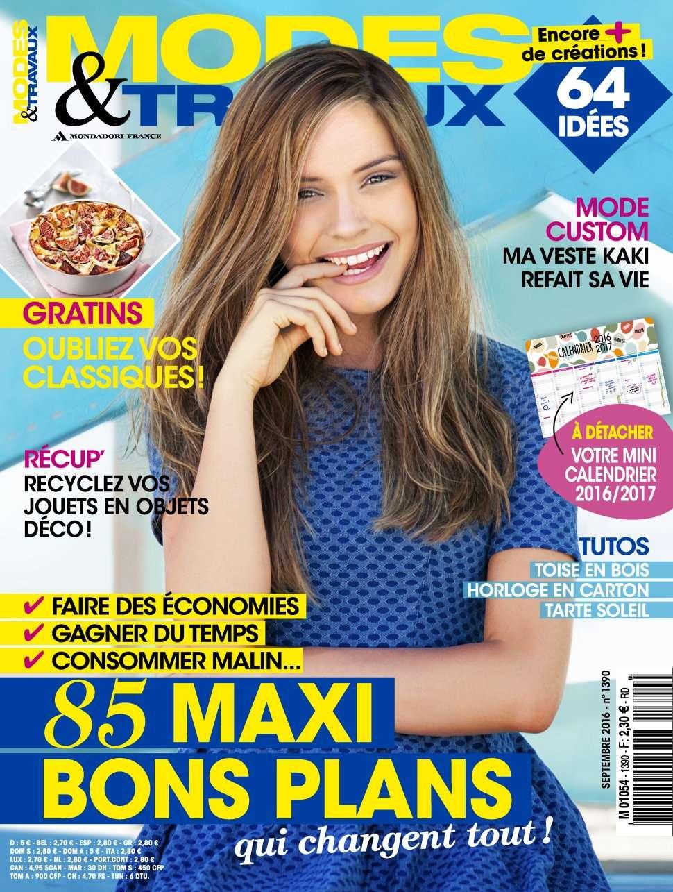 Modes & Travaux 1390 - Septembre 2016