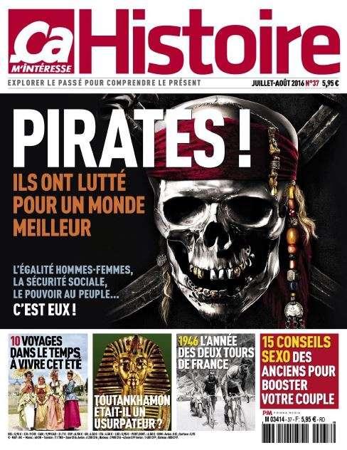 Ca M'Intéresse Histoire 37 Juillet-Aout 2016