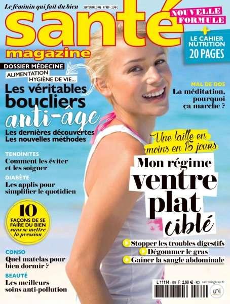 Santé Magazine 489 - Septembre 2016
