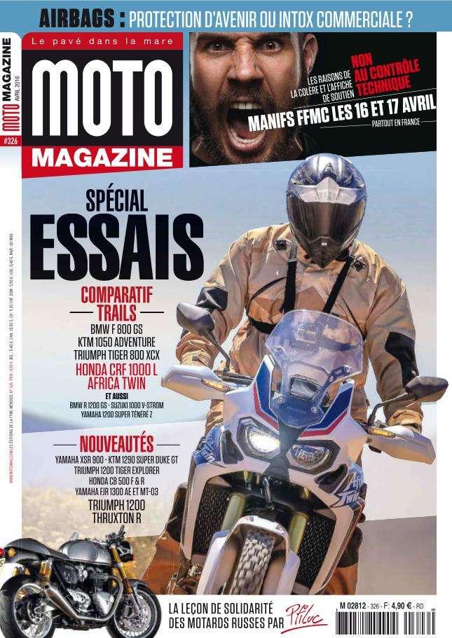 Moto Magazine - Avril 2016