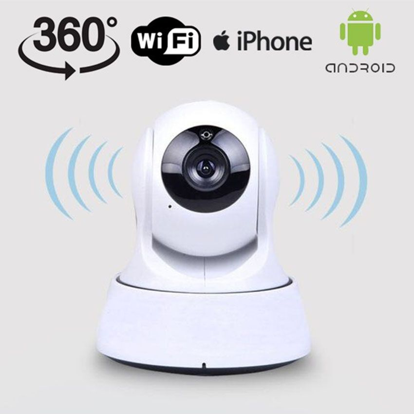 Camera IP Wifi không Anten báo trộm qua điện thoại
