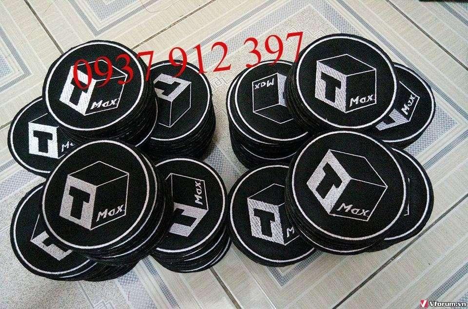 Nhà cung cấp lót ly vải nỉ, cơ sở sản xuất lót ly thêu logo theo yêu cầu giá rẻ