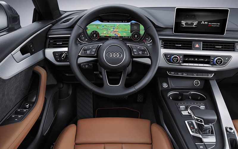 2018 Audi A5 Virtual Cockpit Interior Technology