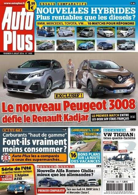 Auto Plus - 8 au 14 Juillet 2016