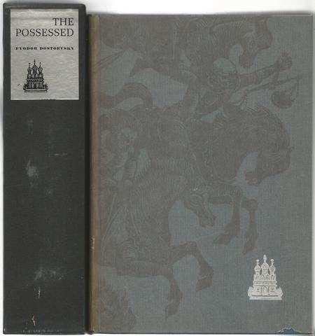 "The Possessed, Including the Supptrssed Chapter, ""Stavrogin's Confession"" (2 Volumes in Slipcase), Dostoyevsky, Fyodor (Dostoevsky) Garnett, Constance (trans)"