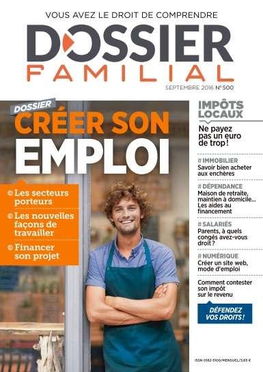 Dossier Familial - Septembre 2016