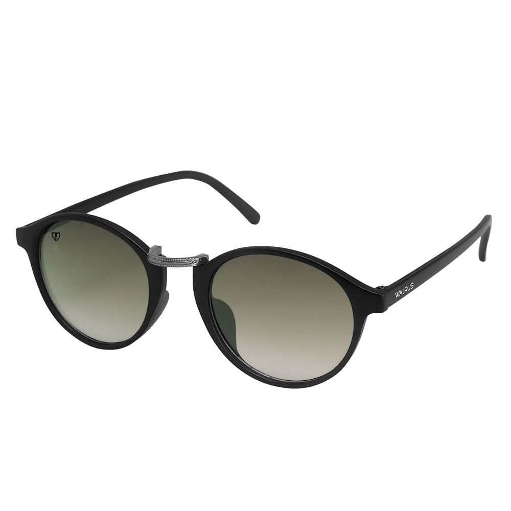 Walrus James Green Color Unisex Oval Sunglass - WS-JAMES-II-040218