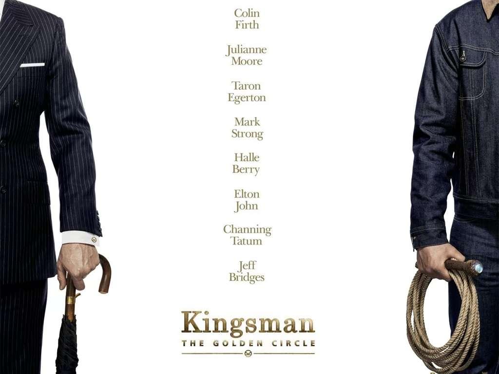 Kingsman: Ο χρυσός κύκλος (Kingsman: The Golden Circle) Quad Poster Πόστερ