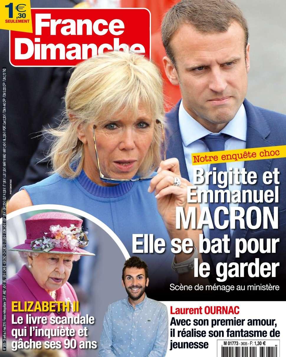 France Dimanche 3635 - 29 Avril au 5 Mai 2016