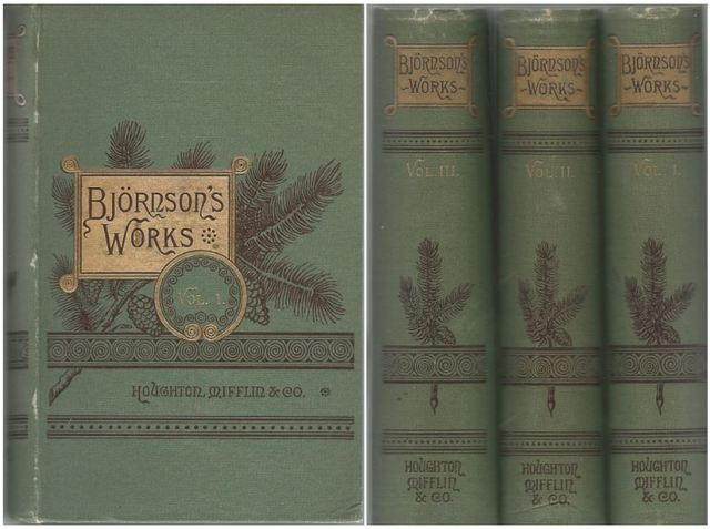 BJORNSON'S WORKS (Three Volumes)