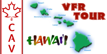 Hawaii VFR Tour