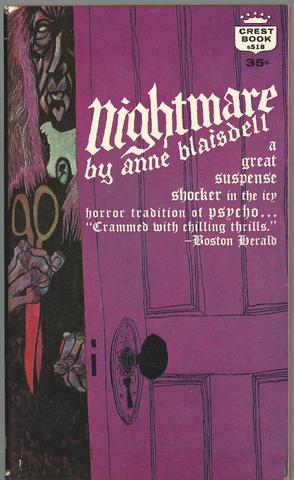 Nightmare By Anne Blaisdell ( Crest No. S518 ), Anne ( Elizabeth Linington ) Blaisdell