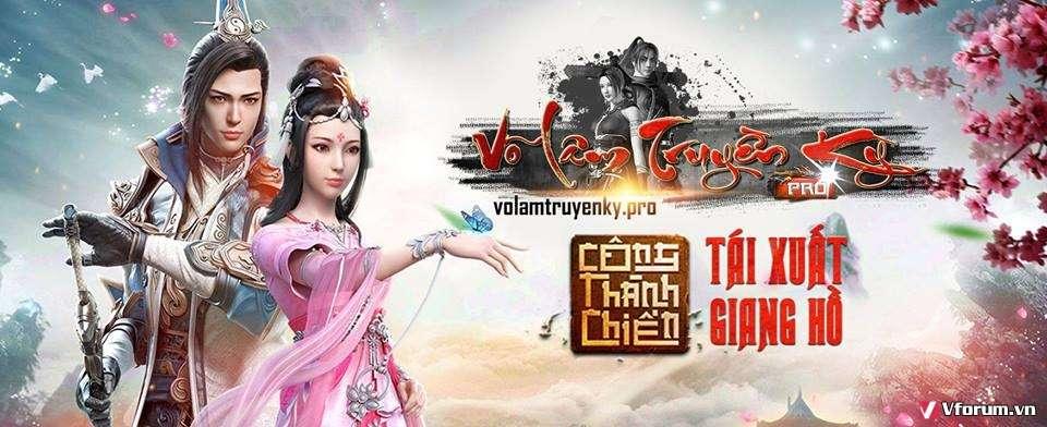 Võ Lâm Truyền Kỳ Pro - Khai Mở Máy Chủ Nam Hải - 19h 29/03/2017 - Phiên Bản Đồ Xanh - AutoVLBS