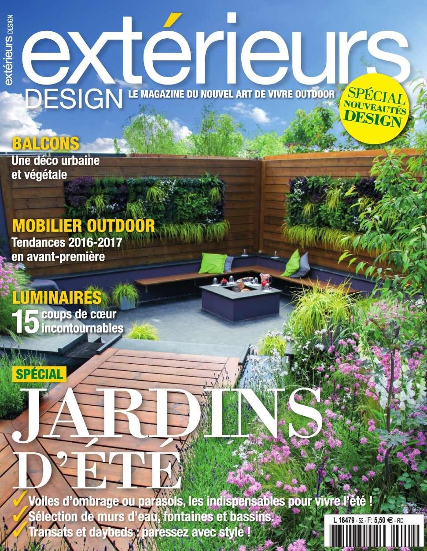 Exterieurs Design 52 - Juillet/Aout 2016