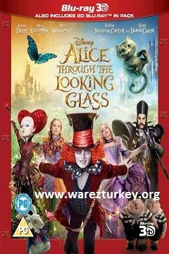 Alis Harikalar Diyarında: Aynanın İçinden - 2016 3D BluRay m1080p Half-SBS Türkçe Dublaj MKV indir