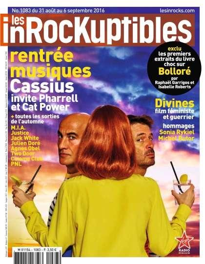 Les Inrockuptibles - 31 Août au 6 Septembre 2016